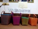 Tas Anyaman Kotak Kombinasi Kaca Super Untuk Hantaran atau Oleh-oleh Hajatan