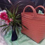 Tas Emak Emak ke Pasar Anyaman Plastik Lurik