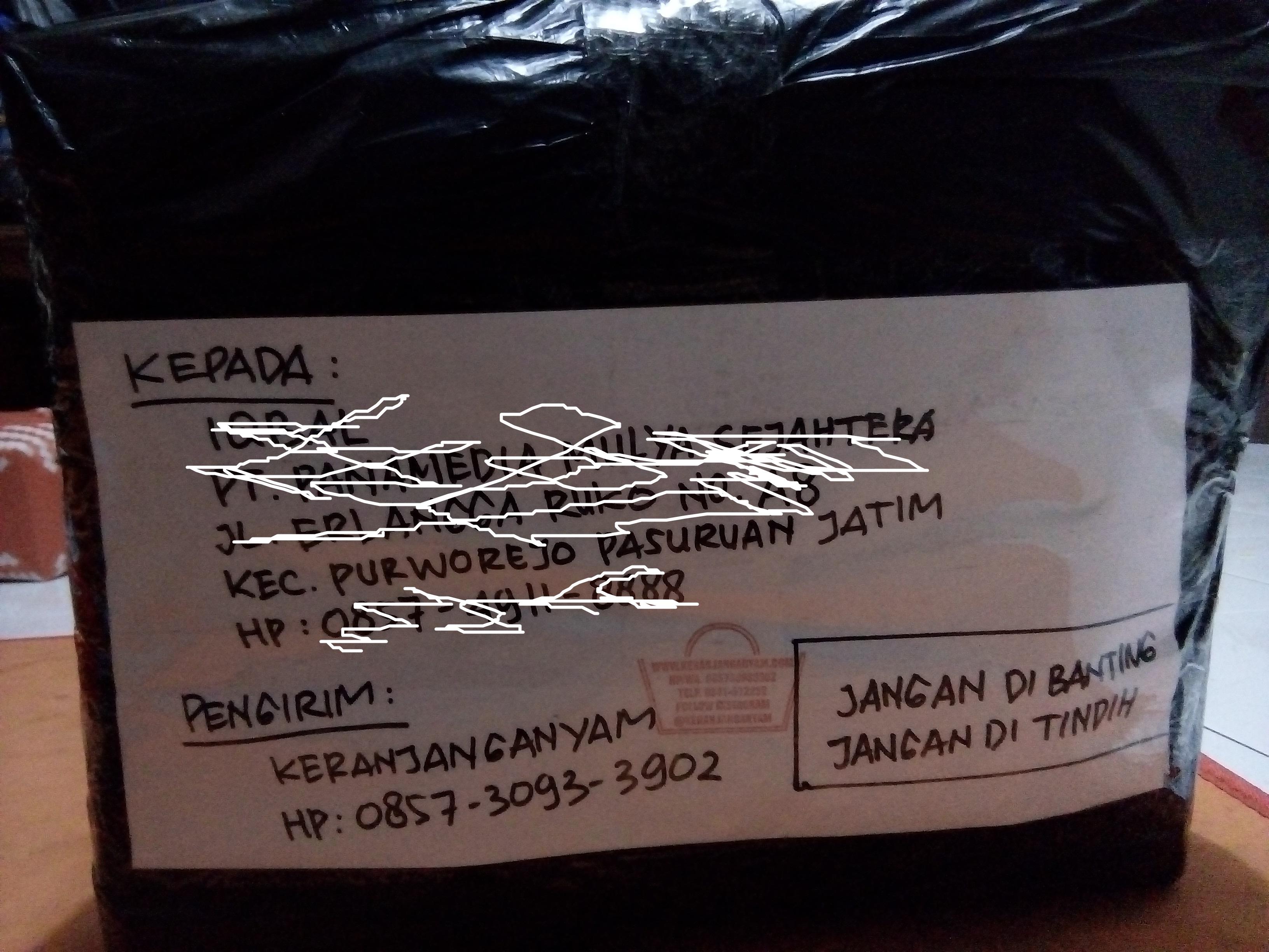 Pengiriman Tas Anyaman ke Pasuruan