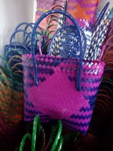 Tas Belanja Pasar Jadul Anyaman Keranjang