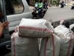 Proses pengantaran pesanan keranjang ke cargo pengiriman