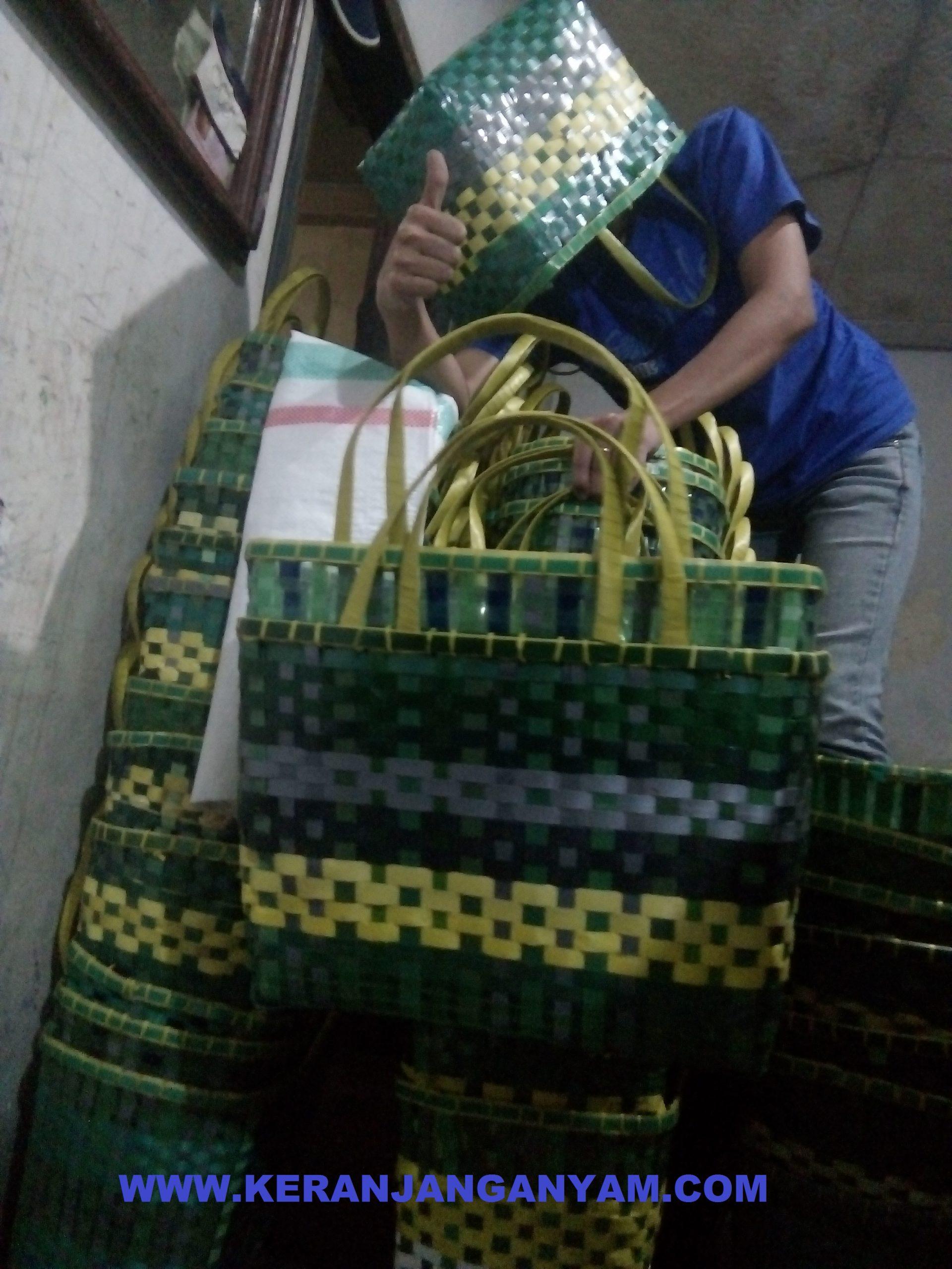 Distributor Tas Keranjang Anyaman Plastik