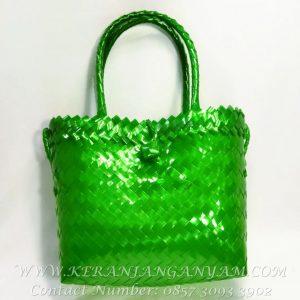 Woven Tote Glass Bag Mini Elegant